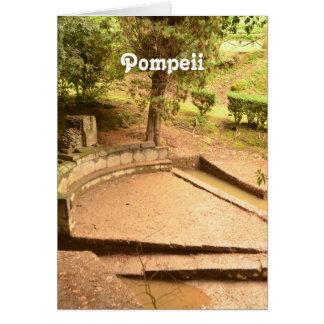 Pompeii Cartão De Nota