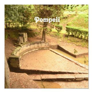 Pompeii Convite Quadrado 13.35 X 13.35cm