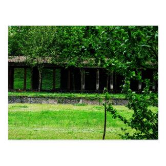Pompeii - Greenspace com ruínas Cartão Postal
