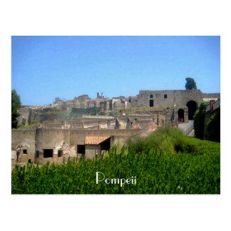 Pompeii Italia Cartão Postal