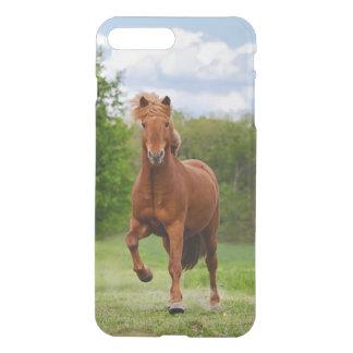 Pônei islandês em amantes engraçados de um cavalo capa iPhone 7 plus