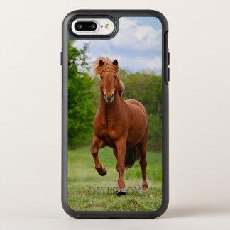 Pônei islandês no _engraçado dos amantes do cavalo capa para iPhone 7 plus OtterBox symmetry