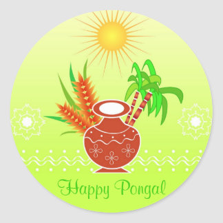 Pongal - festival indiano sul adesivos