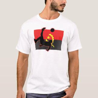 Pontapé de bicicleta de Angola Camiseta