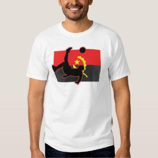 Pontapé de bicicleta de Angola Camisetas