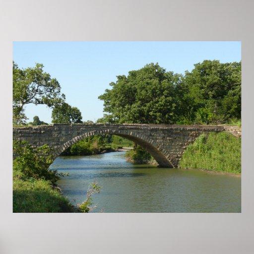 Ponte 1910 do arco da pedra da angra do Fox Posteres