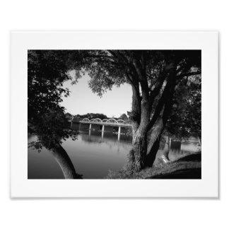Ponte B&W de Caledonia Impressão De Foto