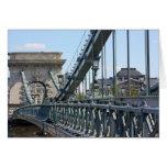 Ponte Chain de Szechenyi, Budapest, Hungria Cartões