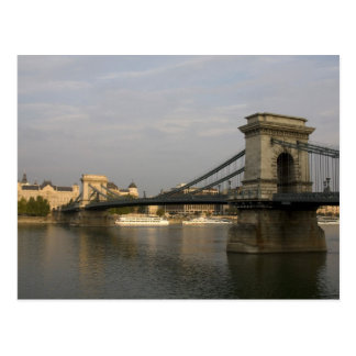Ponte Chain de Szechenyi do lanchid de Szechenyi), Cartão Postal