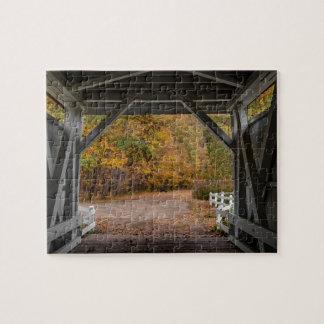 Ponte coberta da estrada de Everatt Quebra-cabeça