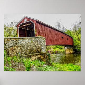 Ponte coberta -- Pa de Lancaster do _do impressão