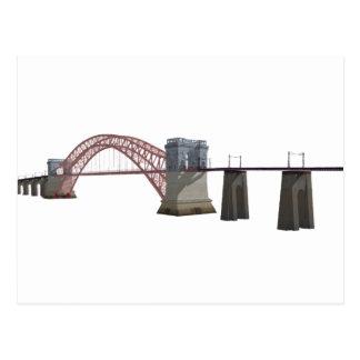 Ponte da porta do inferno: modelo 3D: Cartão Postal