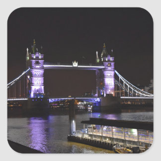 Ponte da torre, Londres Adesivo Quadrado