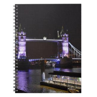 Ponte da torre, Londres Cadernos Espiral