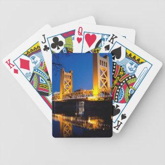 Ponte da torre - Sacramento, CA Baralhos De Carta