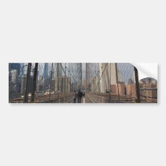 Ponte de Brooklyn - nr 2 de NY New York Adesivo Para Carro
