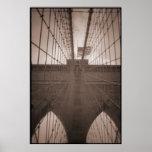 ponte de Brooklyn Pôsteres
