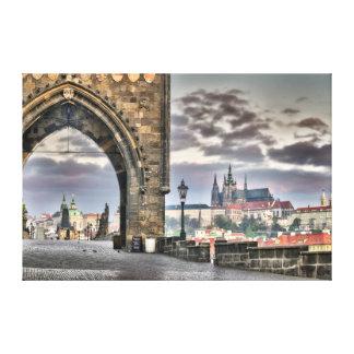 Ponte de Praga Charles, canvas da catedral de