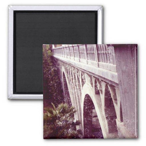 Ponte de Shakespeare do estilo do vintage Imãs