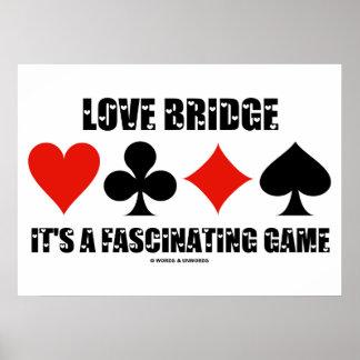 Ponte do amor é um jogo fascinante os ternos do