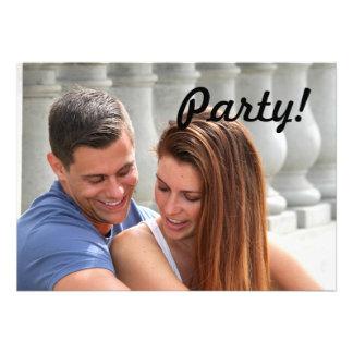 Ponte do casal dos jovens convite