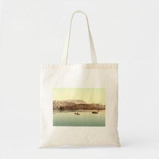 Ponte do ferro, Ramsay, ilha do homem, Inglaterra Bolsa Para Compra