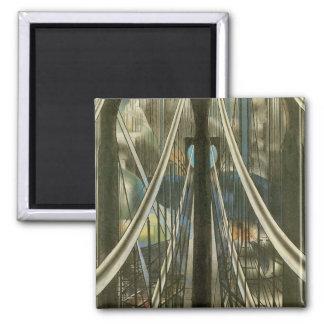 Ponte, Stella, arquitetura da Nova Iorque do Ímã Quadrado