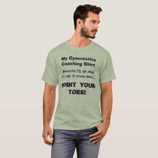 Ponto da camisa engraçada do treinador da