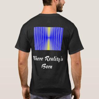 Ponto inicial:  Onde a realidade é nascida Camiseta