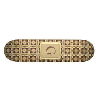 Ponto transversal skateboard