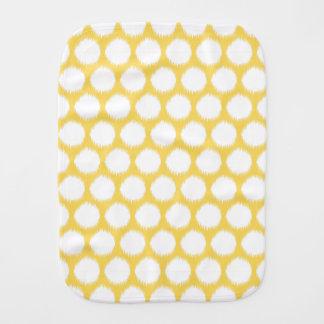 Pontos asiáticos amarelos pálido de Ikat dos Fraldinha De Boca