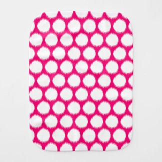 Pontos asiáticos cor-de-rosa de Ikat dos humores Fraldas De Ombro