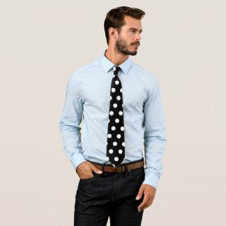 Pontos brancos gravata