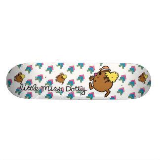 Pontos coloridos pequenos da senhorita Dotty | Shape De Skate 18,1cm