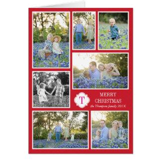 Pontos cor-de-rosa vermelhos do cartão do feriado