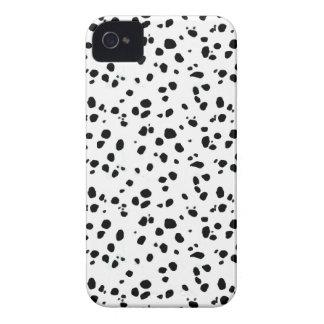 Pontos Dalmatian, impressão Dalmatian, pele Capa Para iPhone 4 Case-Mate