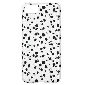 Pontos Dalmatian, impressão Dalmatian, pele Capa Para iPhone 5C
