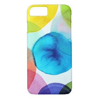 Pontos das cores em capas de iphone