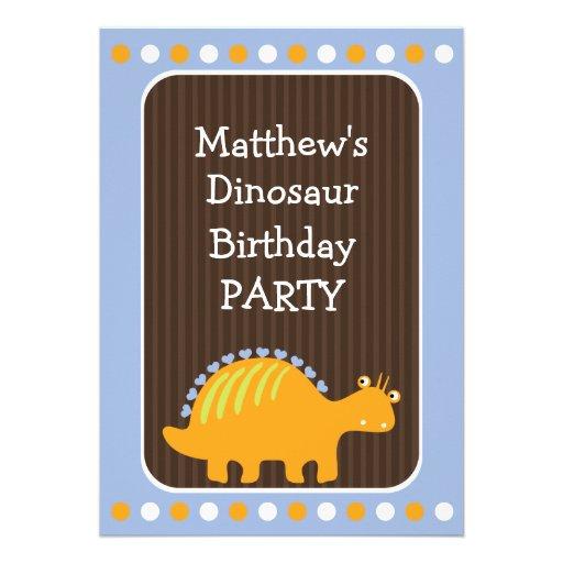Pontos e festa de aniversário do dinossauro dos co convites