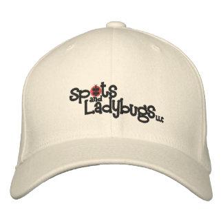 Pontos e joaninhas, chapéu de lãs do LLC Flexfit Boné