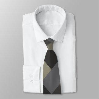 Pontos mortos e preto modelados gravata