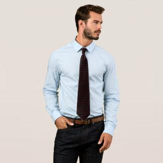 Pontos vermelhos gravata