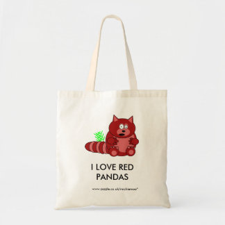 Pook o bolsa da panda vermelha