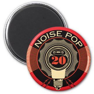 Pop 20 do ruído ímã redondo 5.08cm