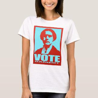 Pop art de Susan B. Anthony do voto Dammit Camiseta