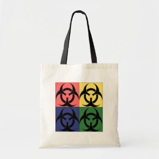 Pop art do Biohazard Bolsa Tote
