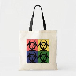 Pop art do Biohazard Sacola Tote Budget