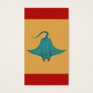 Pop art do raio de Manta Cartão De Visitas