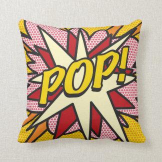 POP da banda desenhada! Travesseiros De Decoração