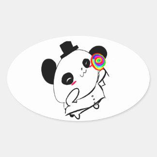 Pop de Lolli Adesivo Oval